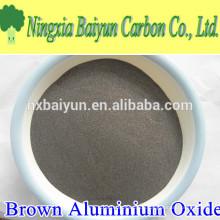 150mesh Aluminiumoxid-Material braunes Aluminiumoxid für beschichtetes Schleifmittel