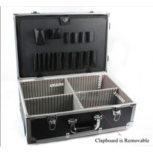 High Quality Aluminum Alloy Trolley Tool Kit with Wheel