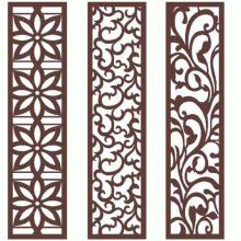 Laser Cut Mild Steel Fences