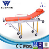 WSX-A1 FIRST-AID AMBULANCE MEDICAL AUTOMATIC ALUMINUM STRETCHER