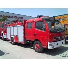 5000liters de Dongfeng marca de caminhão-tanque de combate a incêndios