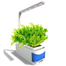 Le système de culture hydroponique coloré L'usine intelligente de jardin élèvent le bureau léger LED élèvent la lumière
