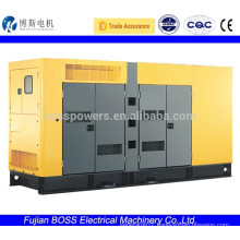 600KW low-noise diesel generator with Cummins engine CE ISO9001