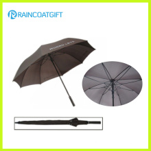 2015 High Quality Solid Rod Pongee Fiberglass Promotional Golf Umbrella