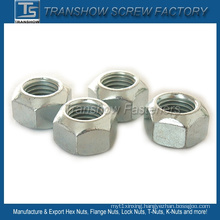 DIN980V Carbon Steel All Metal Lock Hex Nut