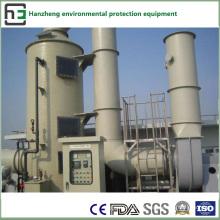 Operação de dessulfuração e desnitamento - Tratamento do fluxo de ar do forno de aquecimento