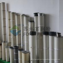 FORST Proveedor Filtro de cemento de poliéster Filtros de bolsas de aire de la industria