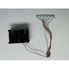 Módulo intermitente LED, intermitente de pantalla POP, luz intermitente LED