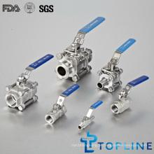 Válvulas de esfera de aço inoxidável sanitárias (BV)