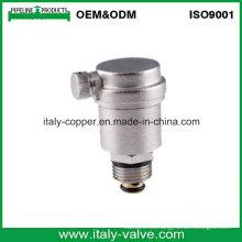 CE certificó la válvula de ventilación de cobre amarillo plateada níquel de aire (IC-3039)