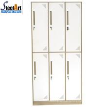 Продажи высокое качество студенческие общежития используются 6 дверные конструкции железный шкаф