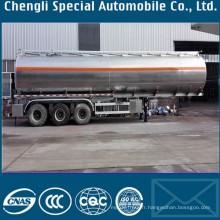Remorque de réservoir de transport d'essence de semi-remorque de réservoir de carburant de 50000 litres