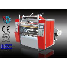Máquina de corte e rebobinamento do rolo de papel de estacionamento