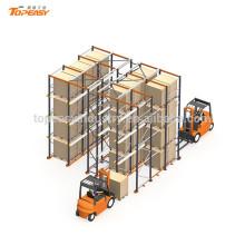 металлические складские стеллажи для поддонов для системы хранения