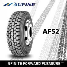 Neumáticos radiales del carro pesado con marca Aufine (315/80R22.5 11R22.5)