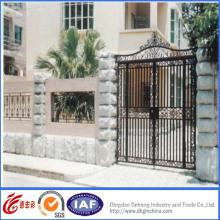 Puerta de hierro forjado de alta calidad vintage