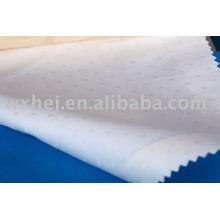 Tela de tecido de hotel de tecido branco de linho de cama CVC60 / 40