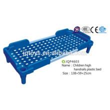 JQP4603 Schulmöbel Kinder Krankenhaus Betten für Kinder Kinder Hoch Handläufe Plastikbett