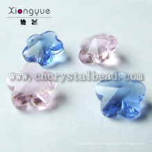 Flor de lujo en forma de granos de la joyería de cristal colgante abalorios