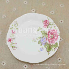 OEM ODM Service Available New Bone China Dinner Plates For Restaurant