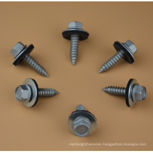 Screw with EPDM Bond Washer