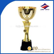 Custom metal trophy golden trophy dice trophy
