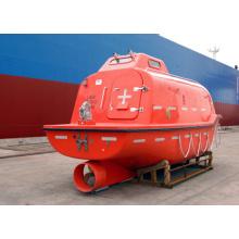 Marine free fall lifeboat