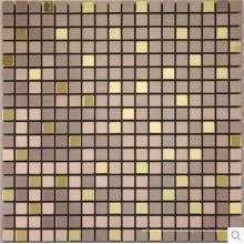 Mosaico do metal alumínio quente vendas ouro forma quadrada para decoração de interiores home /wallpapers