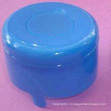 Moulage par injection en plastique pour moule à bouchon de bouteille d'eau minérale 8 cavités moule à injection de bouchon de gallon avec conception de pièce de trou