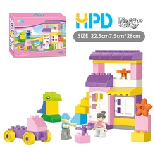 Factory directly sale for Kids Building Toys Latest Building Blocks 36 PCS for Girl export to Armenia Manufacturer