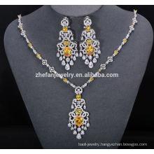 china jewelry wholesale brass jewelry set