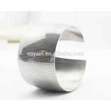 Custom Stainless Steel Blank 40mm Wide Cuff Fashion Lady Bracelet
