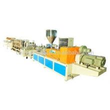 Máquina de fabricación de azulejos esmaltados PVC / ASA