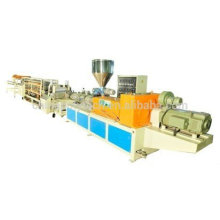 Telha vitrificada PVC / ASA que faz a máquina