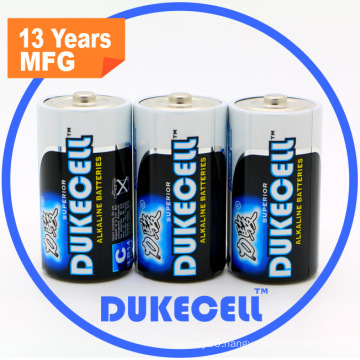 Super Alkaline Dry Battery Lr14 with Aluminium Foil Jacket