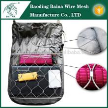 Металлическая сетчатая сумка для защиты от краж (сделано в Китае)