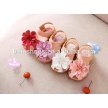 Wholesale kids sandals summer sandals for girls with big flower