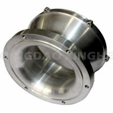 Raccord adapté aux besoins du client de tuyau d'acier inoxydable de bâti en acier