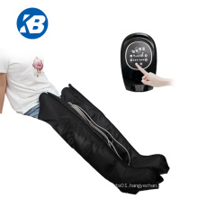 Air wave Pressure compression recovery Boots Compressor Therapy Leg and Foot Massage System