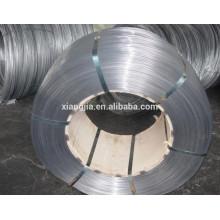 Alambre de acero con alto contenido de carbono