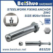 Grade 8.8 Zinc Coated Expansion Anchor Bolt