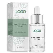 Private Label Apple Stem Cell Face Serum for Anti Wrinkle & Anti Aging
