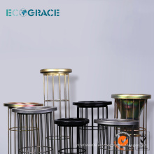 Bolsa de filtro de acero inoxidable bolsa de filtro de jaula