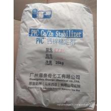 Stabilisateur de chaleur en PVC Ca / Zn
