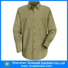 Long Sleeve Work Uniforms Custom Design Carpenter Workwear