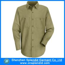 Os uniformes longos do trabalho da luva projetam o Workwear do carpinteiro