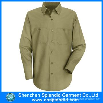 Langarm-Arbeitsuniformen Custom Design Carpenter Workwear