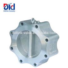 Flujo libre Qué es un tipo de disco de válvula de retención dúo con bridas de un solo pistón Y, válvula de retención 3 4 pulgadas