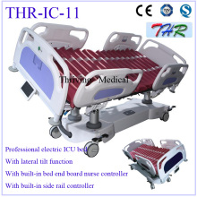 Lateral tilt electric ICU bed