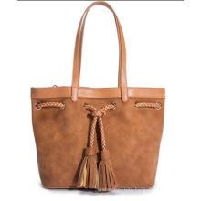 Tassel Fashion Tote Bag (WZX22731)
